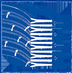 Elastospalt-Filterkerze